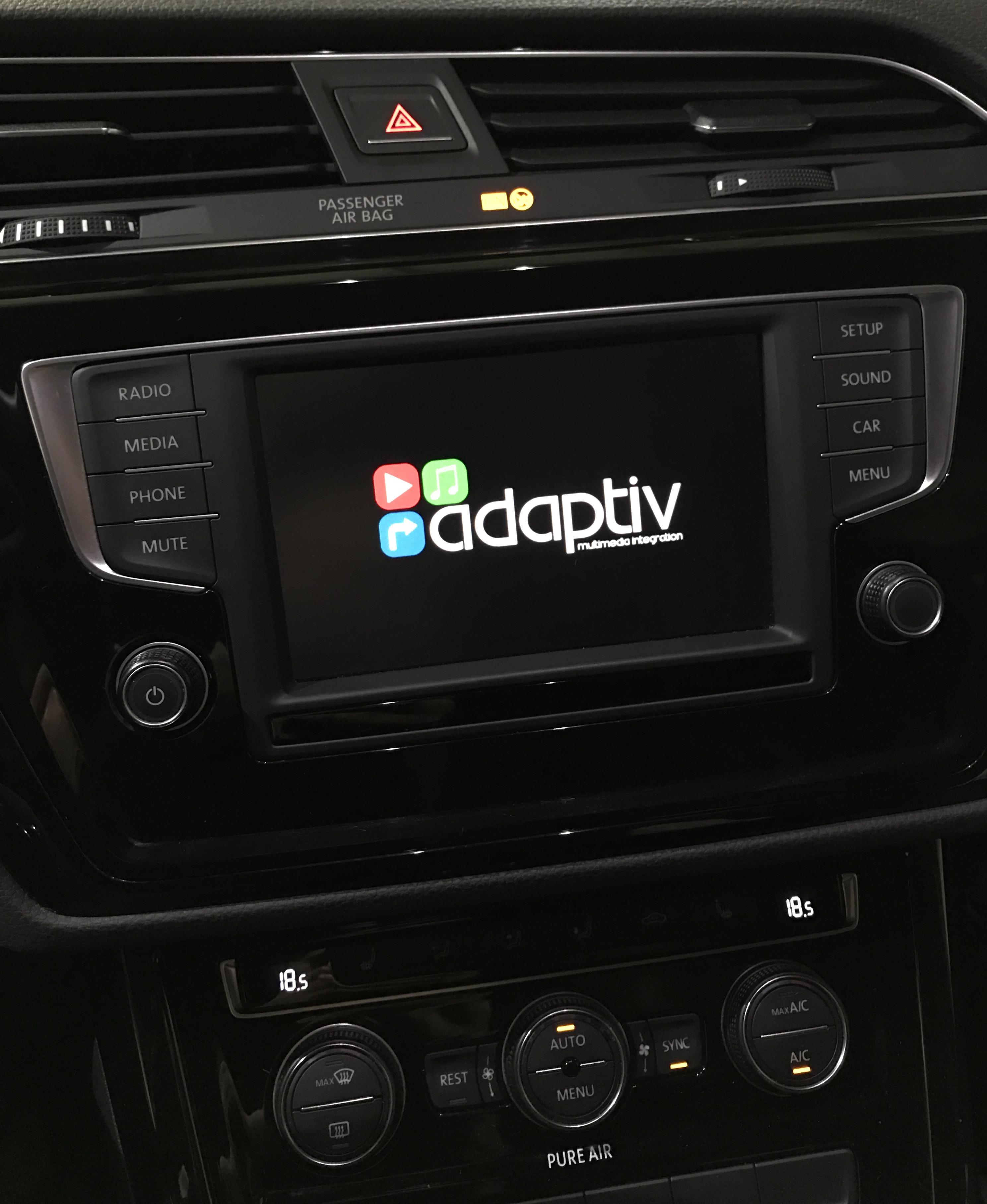 Navigationssystem Nachrüstung für VW